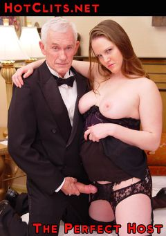 "Adult entertainment movie ""The Perfect Host"" starring Lilly Redwood & Carl Hubay. Produced by Hot Clits Video."
