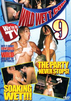 "Adult entertainment movie ""Wild Wet T 9"". Produced by Dream Girls."