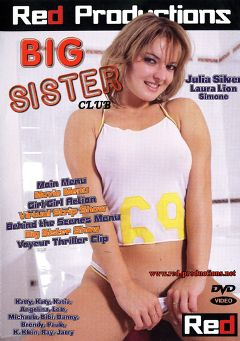 "Adult entertainment movie ""Big Sister Club"" starring Simone *, Laura Lion & Sarah Blue. Produced by Red Productions."