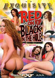 """Just Added presents the adult entertainment movie """"Red On Top Black In The Hole""""."""