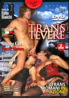 "Adult entertainment movie ""Trans Tevere"" starring Natasha Kiss, Claudia Costa & Fausto Moreno. Produced by Topax Films."