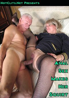 "Adult entertainment movie ""Anal Sex Makes Her Squirt"" starring Carl Hubay. Produced by Hot Clits Video."