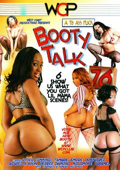 "Adult entertainment movie ""Booty Talk 76"" starring Desiree Diamond, Donna Red & Ryder Cummings. Produced by West Coast Productions."