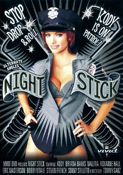 "Adult entertainment movie ""Night Stick"" starring Desert Rose, Briana Banks & Roxanne Hall. Produced by Vivid Entertainment."