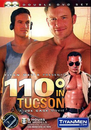110 Degrees In Tucson, starring Spencer Quest, Daxx Reed, Matt Majors, Damon DeMarco, Blu Kennedy, Hunter James, Devon Cade, Ivan Andros, Jacob Riley, Taurus, Tyler Kane, Nathan York, Andy Hunter, Luke Pearson, Devon Barry, Bryce Pierce and Ray Dragon, produced by Titan Media.