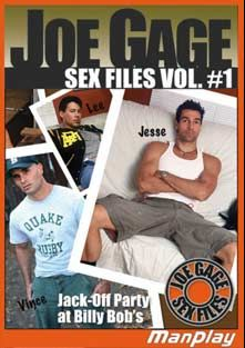 MSR 27: Joe Gage Sex Files, starring York Powers, Lex Kyler, Michael Knight, Derek Dewars, Damian Steele, Walt Waters, Jordan (m), Rhett O'Hara, John Carlos, Michael Gomez and Deacon Frost, produced by Titan Media and Manplay.