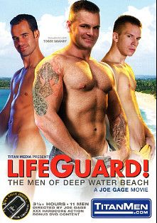 Lifeguard The Men Of Deep Water Beach, starring Tober Brandt, Zackary Pierce, Derrick Hanson, Colby Keller, Marco Van, George Glass, Ken Mack, Cliff Rhodes, Cam Kurtz, Chad Leigh and Ray Dragon, produced by Titan Media.