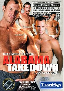Alabama Take Down, starring Spencer Quest, Cliff Rhodes, Joey Milano, Owen Hawk, Ken Mack, Jon Galt, Damon DeMarco, Blu Kennedy, Jay Armstrong and Bobby Williams, produced by Titan Media.