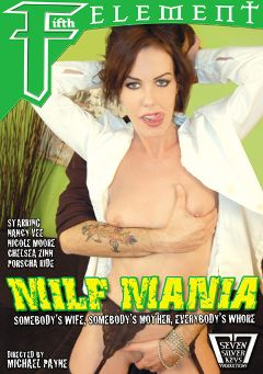 "Adult entertainment movie ""MILF Mania"" starring Porscha Ride, Nicole Moore & Nancy Vee. Produced by Fifth Element."