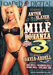 "Just Added presents the adult entertainment movie ""MILF Bonanza 3""."