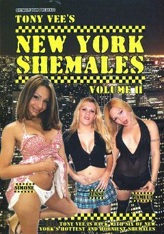 "Adult entertainment movie ""Tony Vee's New York Shemales 2"". Produced by Grooby Productions."