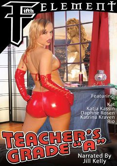 "Adult entertainment movie ""Teacher's Grade A"" starring Katrina Kraven, Katja Kassin & Jill Kelly. Produced by Anarchy Films."