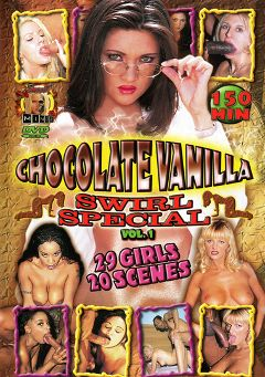 "Adult entertainment movie ""Chocolate Vanilla Swirl Special"" starring April Flowers, Lisa Belle & Monique. Produced by Evil Mindz."