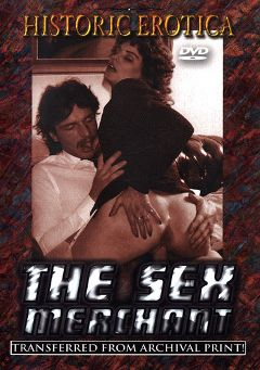 "Adult entertainment movie ""The Sex Merchant"". Produced by Historic Erotica."