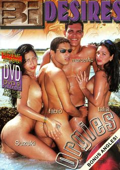 "Adult entertainment movie ""Bi Desires"" starring Suzuki, Marcelao & Talia. Produced by Sunshine Entertainment."