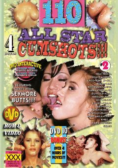 "Adult entertainment movie ""110 All Star Cumshots 2"" starring Jody Joy, Kia & Tricia Yen. Produced by Sunshine Entertainment."