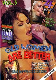 """Just Added presents the adult entertainment movie """"Old Women Are Better 3""""."""