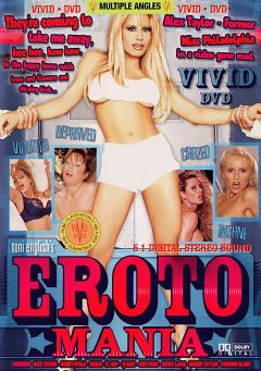 "Adult entertainment movie ""Eroto Mania"" starring Dasha, T.J. Hart & Renee La Rue. Produced by Vivid Entertainment."