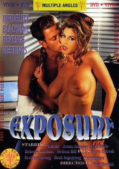 "Adult entertainment movie ""Exposure"" starring Celeste, Rebecca Bardoux & Jenna Jameson. Produced by Vivid Entertainment."