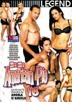 "Adult entertainment movie ""Bi Bi American Pie 16"" starring Orion Cross, Kelly Wells & Victoria Sin. Produced by Macho Man Video."