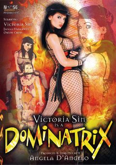 "Adult entertainment movie ""Victoria Sin Is A Dominatrix"" starring Victoria Sin, Orion Cross & Jayden Holloway. Produced by Legend."