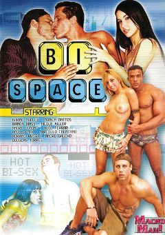 "Adult entertainment movie ""Bi Space"" starring Bianca Biasi, Apollo Max & Andre Dumont. Produced by Macho Man Video."