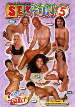 "Adult entertainment movie ""Sex Fun 5"" starring Dynamite, Samantha Sweet & Sunny Daze. Produced by Dave Cummings."