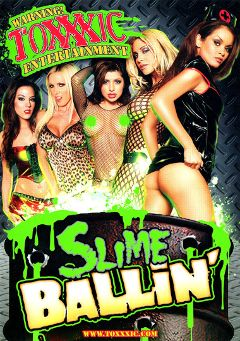 "Adult entertainment movie ""Slime Ballin'"" starring Nikki Benz, Daisy Marie & Sativa Rose. Produced by Metro Media Entertainment."