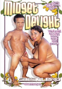 "Adult entertainment movie ""Midget Delight"". Produced by Caballero Video."