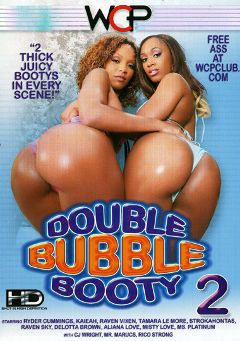 "Adult entertainment movie ""Double Bubble Booty 2"" starring Ryder Cummings, Delotta Brown & Raven Sky. Produced by West Coast Productions."
