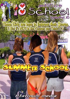 "Adult entertainment movie ""18 And Still In School 10"". Produced by Platinum Media."