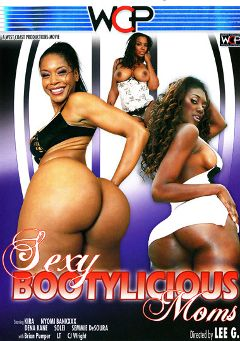 "Adult entertainment movie ""Sexy Bootylicious Moms"" starring Semmie de Suora, Nyomi Banxxx & Kira. Produced by West Coast Productions."