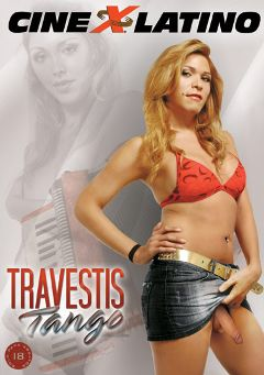 "Adult entertainment movie ""Travestis Tango"" starring Rocio (o), Victoria Saenz & Michelle (o). Produced by Putiklub."