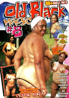 "Adult entertainment movie ""Old Black Magic 8"". Produced by Sunshine Films."