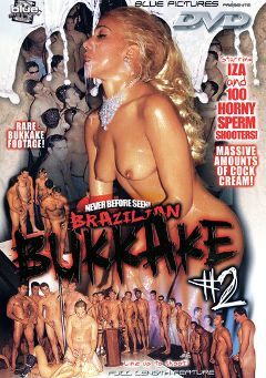 "Adult entertainment movie ""Brazilian Bukkake 2"" starring Isa Christine, Ariel Dolphin & Gabriel Ferretti. Produced by Blue Pictures."