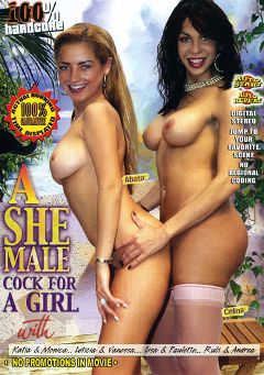 "Adult entertainment movie ""A She Male Cock For A Girl"" starring Abata, Celina (o) & Wanessa. Produced by Sunshine Films."