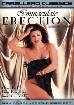 "Adult entertainment movie ""Immaculate Erection"" starring Ona Zee, Marc Wallice & T.T. Boy. Produced by Caballero Video."