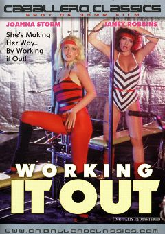 "Adult entertainment movie ""Working It Out"" starring Janey Robbins, Joanna Storm & Joa Martinez. Produced by Caballero Video."