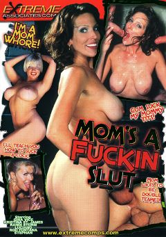 "Adult entertainment movie ""Mom's A Fuckin Slut"" starring Gina Vice, Randi Storm & Kristina St. James. Produced by Caballero Video."