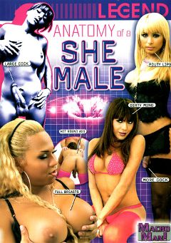 "Adult entertainment movie ""Anatomy Of A She Male"". Produced by Macho Man Video."