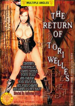 "Adult entertainment movie ""The Return Of Tori Welles"" starring Sydnee Steele, Tori Welles & Bobbi Bliss. Produced by Vivid Entertainment."