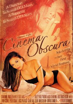 "Adult entertainment movie ""Cinema Obscura"" starring Malezia, Lola & Holly Hollywood. Produced by Vivid Entertainment."