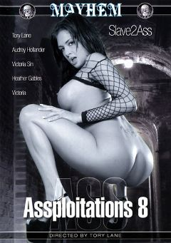 "Adult entertainment movie ""Assploitations 8"" starring Tory Lane, Audrey Hollander & Victoria Sin. Produced by Mayhem XXX."