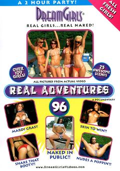 "Adult entertainment movie ""Real Adventures 96"". Produced by Dream Girls."