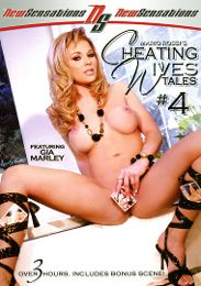 "Featured Series - Cheating Wives Tales presents the adult entertainment movie ""Cheating Wives Tales 4""."