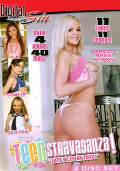"Adult entertainment movie ""Teen Stravaganza Part 2"" starring Bree Olson, Sasha Grey & Tia Tanaka. Produced by Digital Sin."