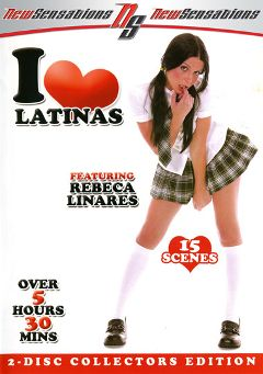 "Adult entertainment movie ""I Love Latinas Part 2"" starring Rebeca Linares, Sativa Rose & Samantha South. Produced by New Sensations."