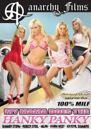 "Editors' Choice presents the adult entertainment movie ""My Mom Does The Hanky Panky""."