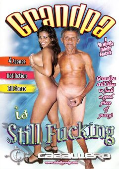 "Adult entertainment movie ""Grandpa Is Still Fucking"". Produced by Caballero Video."