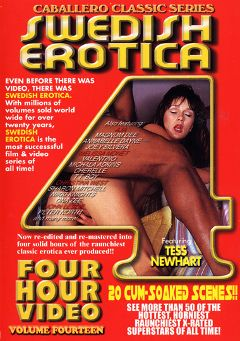 "Adult entertainment movie ""Swedish Erotica 14"" starring Tess Newheart, Cherelle & Lisa B.. Produced by Caballero Video."